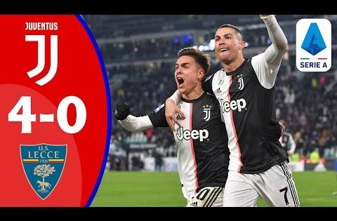 🔴Juventus vs Lecce | Full Match LIVE | Italy Serie A 2020 | Football