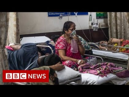 India passes 20 million Covid cases amid oxygen shortage – BBC News