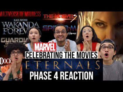 Eternals Teaser Trailer   MARVEL STUDIOS CELEBRATES THE MOVIES REACTION!   MaJeliv   Phase 4 & MORE!