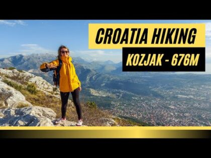 AMAZING CROATIA 2020  |  Hiking in Dalmatia  | Kozjak Mountain  |  Travel Vlog