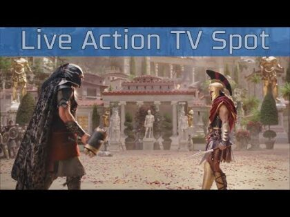 Assassin's Creed Odyssey – Live Action TV Commercial [HD 1080P]