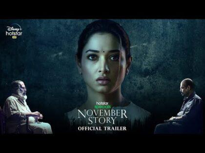 Hotstar Specials November Story Official Trailer   Tamannaah, Pasupathy, GM Kumar   20th May