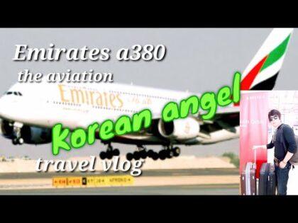 Korean angel lalaking marangal Emirates a380 aviation the travel vlog