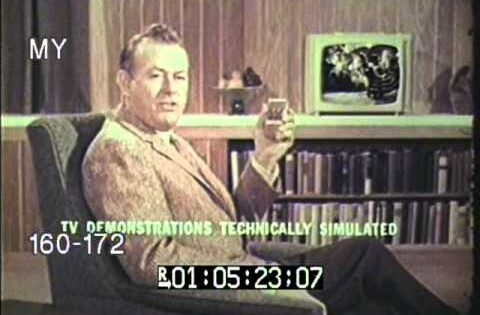 1960s RCA Victor Wireless Wizard Remote Control TV Commercial