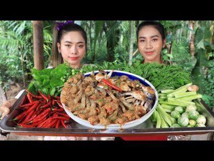 How to make crab and shrimp salad recipe – Sea food