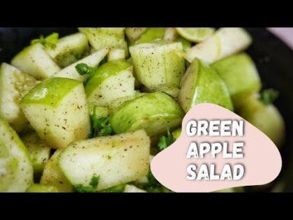 Green Apple Salad | Weightloss salad | Healthy food recipe| Quick Healthy salad | Continental recipe