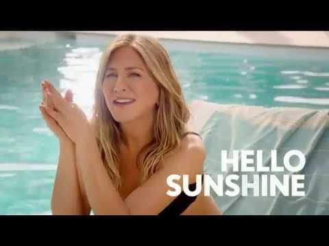 Aveeno Positively Mineral Sunscreen TV Commercial Hello Sunshine Featuring Jennifer Aniston   iSpott