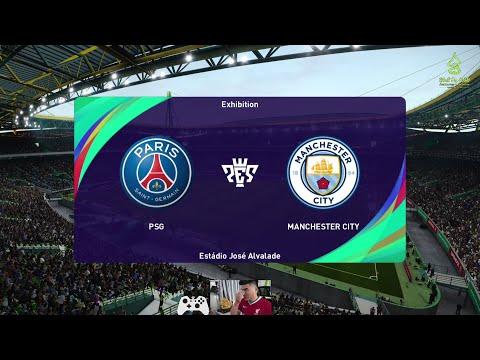 PES 2021-Neymar Skill / PSG 3-0 Manchester City | UCL™ [ 60fps] | PES TOULKORK