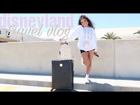 Disneyland Travel Vlog + Downtown Disney!