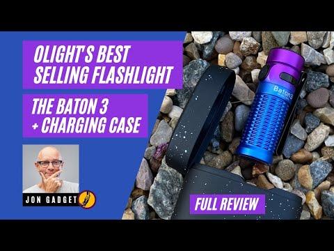 Olight Baton 3 Plus Charging Case – Full Review