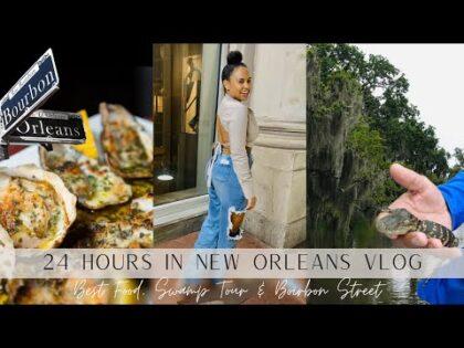 NEW ORLEANS TRAVEL VLOG | Best Food, Swamp Tour & Bourbon Street