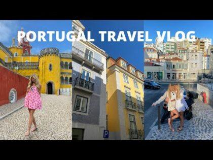 PORTUGAL TRAVEL VLOG | LISBON + SINTRA