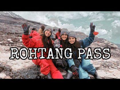 Rohtang Pass| Manali Part 3| Sanghmitra Mishra | Travel Vlog