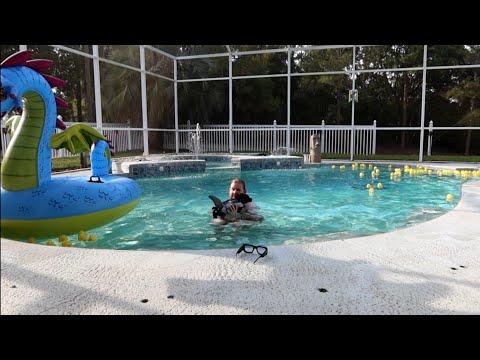 Jah Goes Swimming | LIGHTING Up The House – Jordan The Lion Travel Vlog (7/26/21)