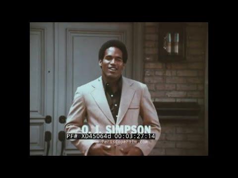 1970s HART SCHAFFNER MARX TV COMMERCIAL w/ O.J. SIMPSON & JACK NICKLAUS XD45064d