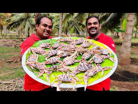 CRAB CHETTINAD PEPPER VARUVAL | Nandu Pepper Recipe | World Food Tube