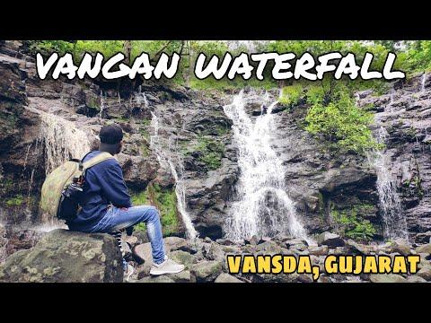 vangan waterfall | આંકડા ધોધ | akda dhodh | vansda |  gujarat  | travel vlog
