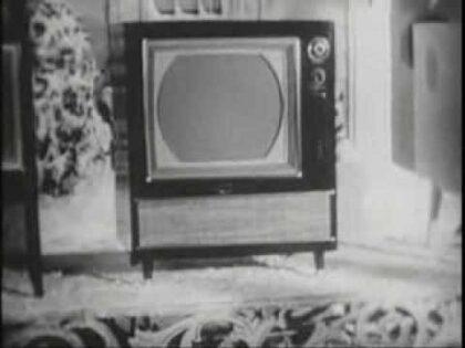 1956 RCA TV COMMERCIAL.  The Glenwood 21 & The Headliner 21