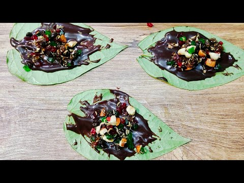 Chocolate Pan Recipe #Shorts #short #panrecipe #youtubeshorts #yummy #food #Recipe