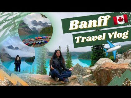 BANFF ALBERTA TRAVEL VLOG 2021| Lake Louise, Lake Moraine, and Calgary!