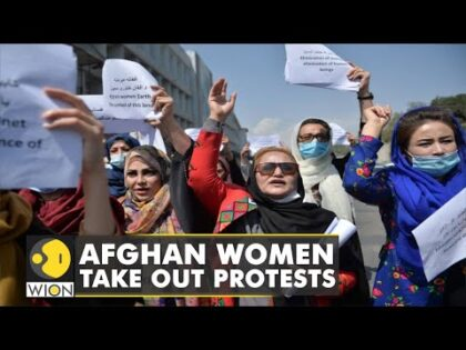 Afghan women hold demonstrations demanding restoration of rights | Afghanistan News | World News