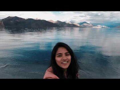 Pangong Lake || Day 7 || Travel VLOG || Sripriya Iduri ||