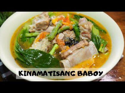 THE PERFECT KINAMATISANG BABOY RECIPE | FOODNATICS