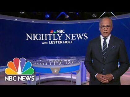 NBC Nightly News Full Broadcast – September 23rd