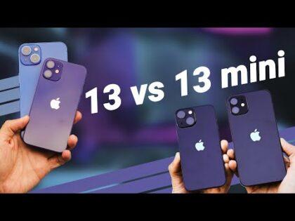 iPhone 13 vs 13 Mini: Better Than You Think!?