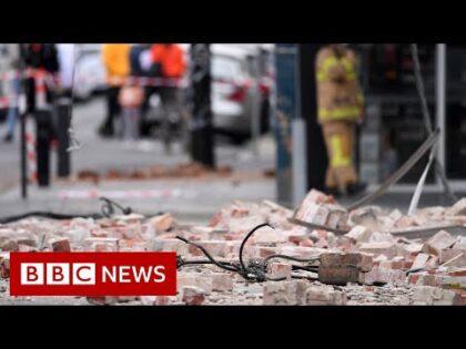 Earthquake shakes Melbourne – BBC News