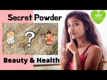 A Powder For Your Beauty & Health   Vegan Protein Powder   No Soya