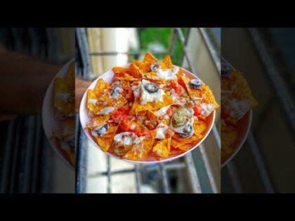 Making Salsa Sauce for Restaurant Style Nachos | Salsa Sauce Recipe | Nachos Recipe #shorts