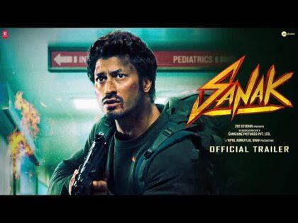 SANAK Official Trailer | Vidyut Jammwal | Rukmini Maitra | Neha Dhupia | Kanishk Varma