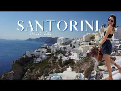 SANTORINI, GREECE | TRAVEL VLOG