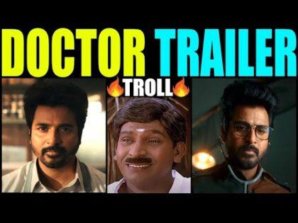 DOCTOR – Official Trailer | Sivakarthikeyan  | Varun Doctor Trailer | doctor trailer