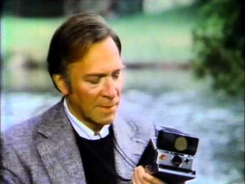 Christopher Plummer for Polaroid 1980 TV commercial
