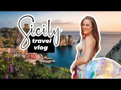 Sicily Travel Vlog 🇮🇹 |  Syracuse, Italian Food & History