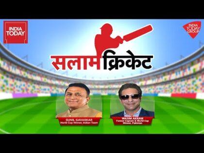 Salaam Cricket 2021   Sunil Gavaskar & Wasim Akram EXCLUSIVE On India-Pak Clash At T20 World Cup
