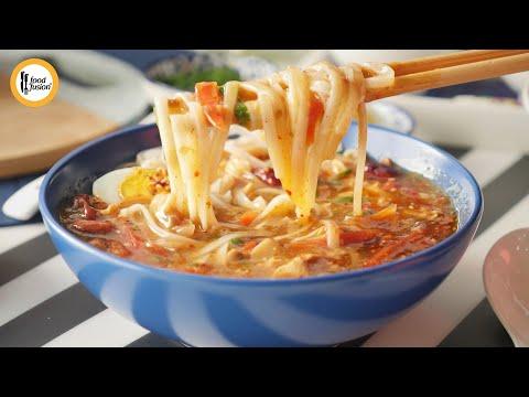 Hot & Sour Noodle Soup Recipe By Food Fusion