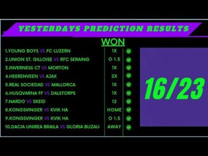 TODAYS FOOTBALL PREDICTIONS 17/10/2021 FOOTBALL PREDICTIONS TODAY SOCCER PREDICTION TODAY