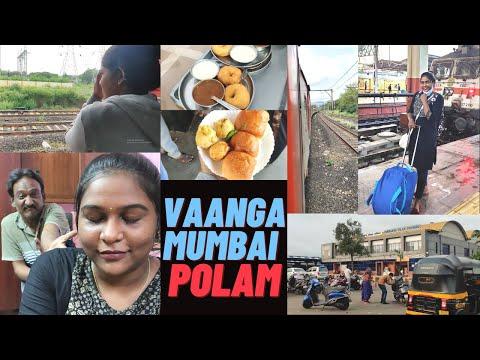 Chennai to Mumbai Train travel Vlog | Mumbai vlog – 1 ❤️ | Jaicy Victoria