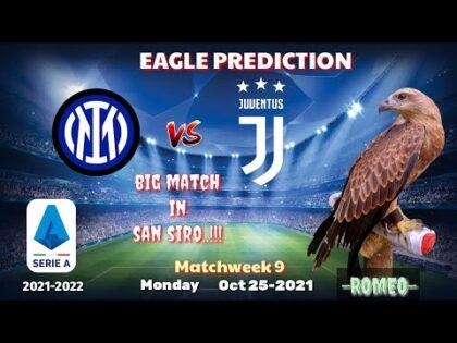 Inter Milan vs Juventus    Serie A 2021/22    Eagle Prediction