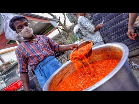 Aadha Kilo Makhan wali Pav Bhaji | Anokha Indian Street Food #shorts